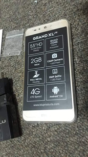 Blu Grand Xl Lte (100)16gb Interna-2gb Ram-camara 13mp+8mp