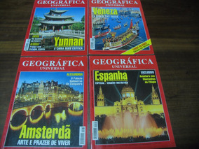 Geográfica Universal Lote Com 12 Exemplares 1998