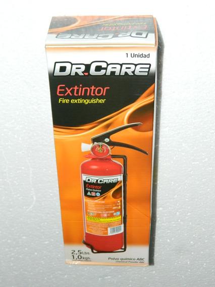 Extintor 2,5 Lb - 1kg Recargable Vehiculos Casas Negocios