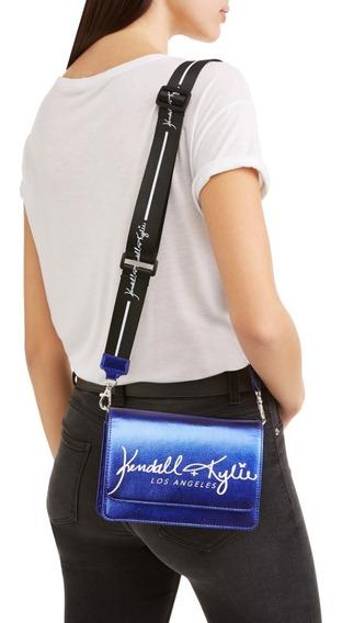 Cartera Pequeña Kendall + Kylie Azul