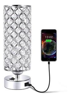 Lampara Elegante Cristal Lampara Moderna Lampara De Buro