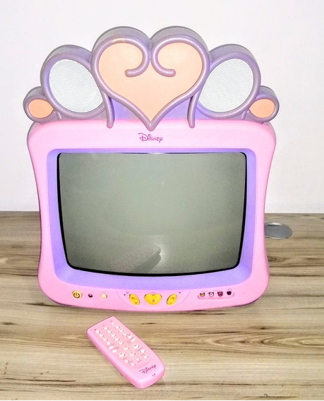 Tv Disney Princesas Tubo 14 Polegadas Testada Games