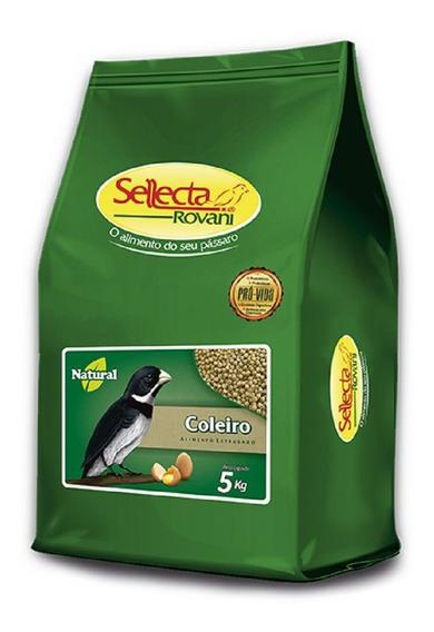 Sellecta Extrusado Natural Coleiro - 5 Kg