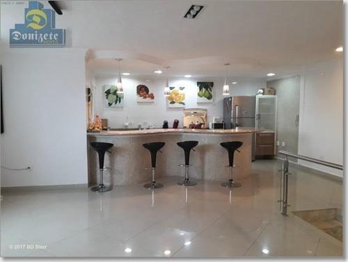Cobertura Com 3 Dormitórios À Venda, 146 M² Por R$ 685.000,00 - Barcelona - São Caetano Do Sul/sp - Co0942