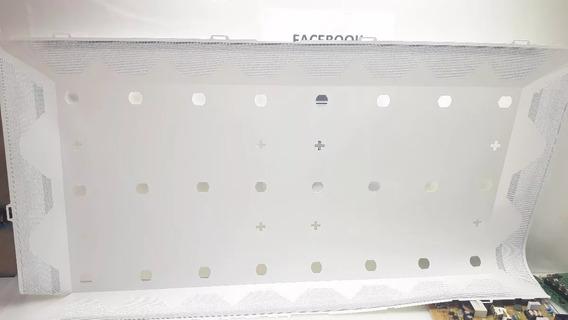 Plastico Refletor Branco Dos Leds Tv Samsung Un40h4200ag
