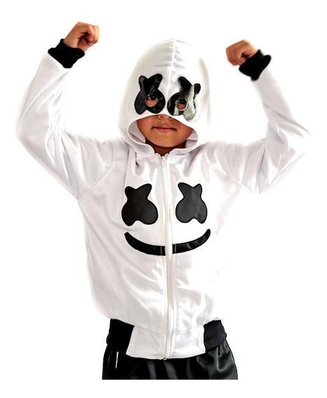Pants Disfraz Marshmello Para Niño
