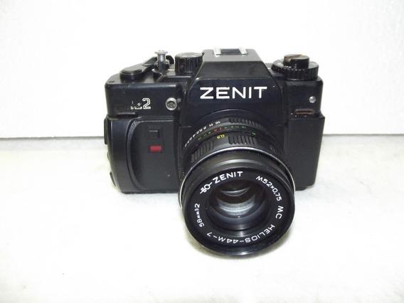 Maquina Fotografica Analogica Zenit 122 Made In Russia