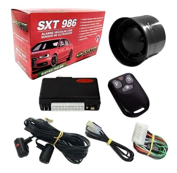 Alarme Automotivo Sistec Sxt986 Universal C/ 2 Controles