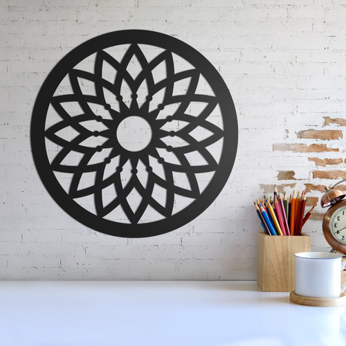 Imagem 1 de 2 de Quadro Decorativo Parede Esotérico Mandala 10 30cm