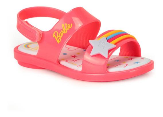 Sandália Infantil Grendene Barbie Beauty Baby
