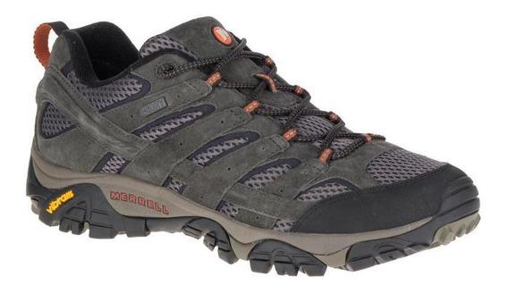Zapato Hombre Merrell Moab 2 Wtpf Beluga Sport Casual