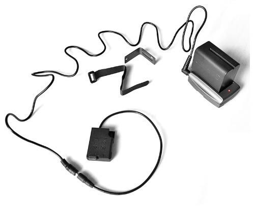 Adaptador Bateria F970 Para Camera Nikon P7700 P7000 D5600
