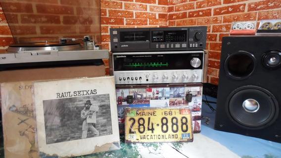 Som Vintage, Receiver, Tape Deck E Toca Discos