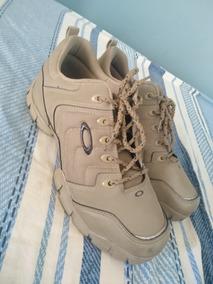 Tenis Boot Oakley 42/43 Kaki Semi-novo
