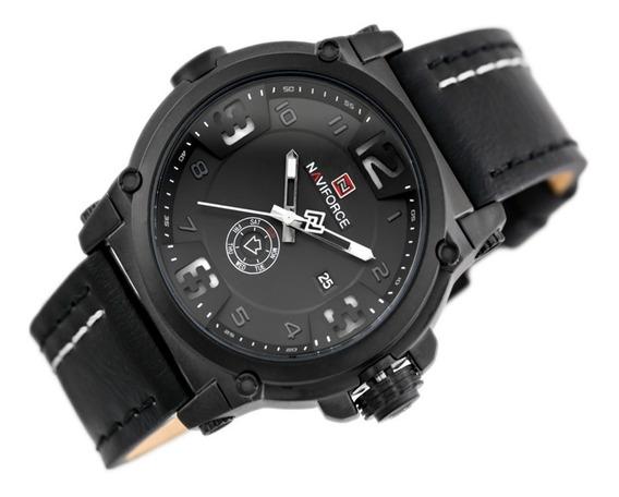 Relógio Social Masculino Naviforce 9099 Original + Caixinha