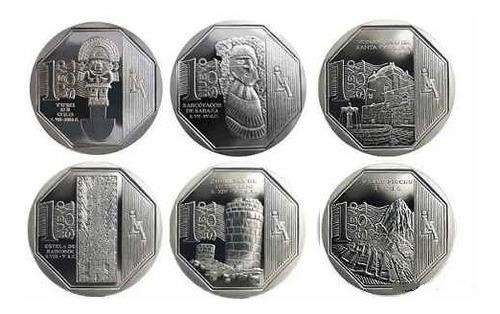 Moneda 1 Nuevo Sol Riqueza Y Orgullo Del Perú Mercado Libre