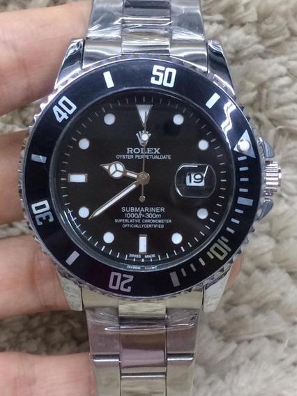 Relógio Rolex Submariner +caixinha Frete Gratis