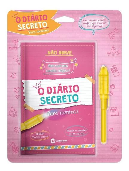 Diário Mágico Secreto Com Caneta Mágica- Culturama