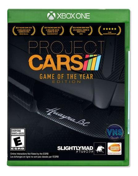 Project Cars Goty - Xbox One - Mídia Física - Lacrado
