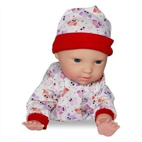 Boneco Dudu Engatinha 33 Cm Baby Brink - Original E Lacrado