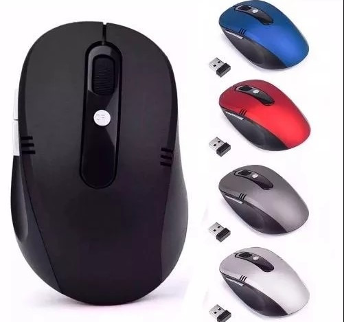 Mouse S/ Fio 2.4 Ghz Usb Wireless Desktop