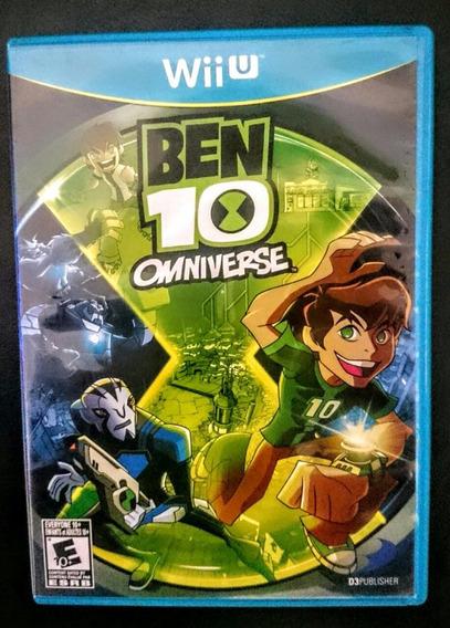 Jogo Ben 10 Omniverse Wii U Envio Imediato Frete R$10