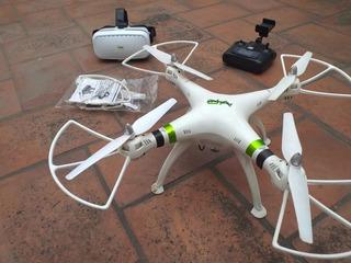 Drone Promark Vr-p70 + Cámara + Lentes Realidad Virtual