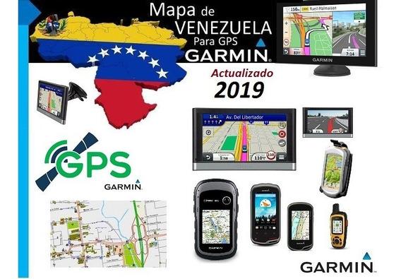 Mapa De Venezuela Garmin + Puntos De Interes | Version 2019