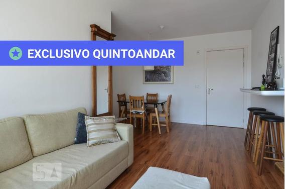 Apartamento No 10º Andar Com 2 Dormitórios E 1 Garagem - Id: 892968297 - 268297