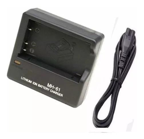 Carregador P/ Nikon Mh 61 Enel5 Coolpix 3700 4200 5200 5900