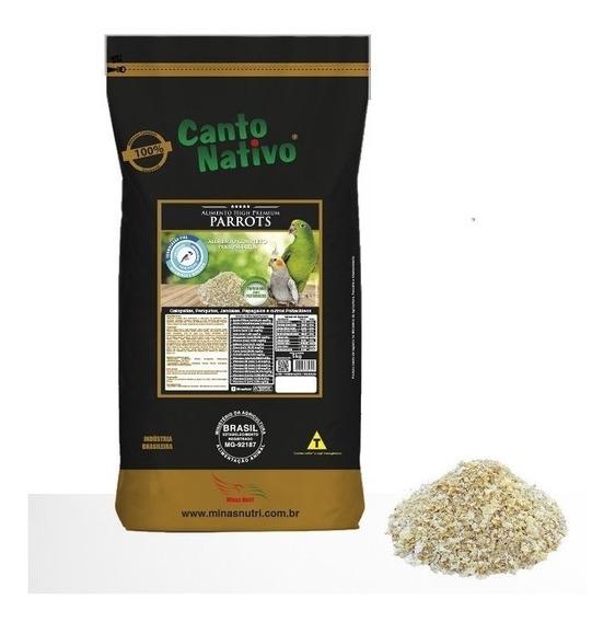 Farinhada Canto Nativo Parrots - Alimento High Premium 5 Kg