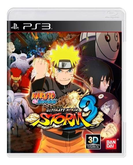 Naruto Ultimate Ninja Storm 3 - Ps3 - Física - Usado