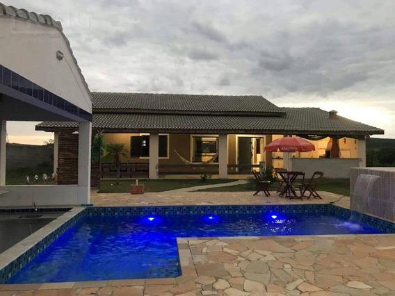 Chácara Com 3 Dormitórios À Venda, 1300 M² Por R$ 510.000 - Portal Mantiqueira - Caçapava/sp - Ch0036