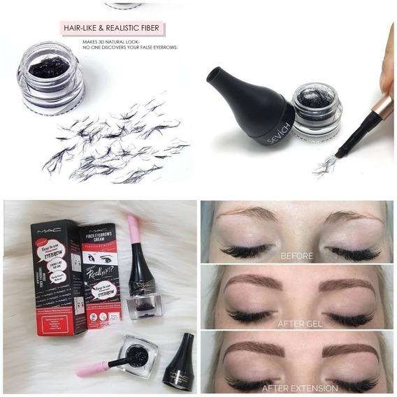 Maquillaje De Cejas Fibras Para Cejas Microblading Delineado