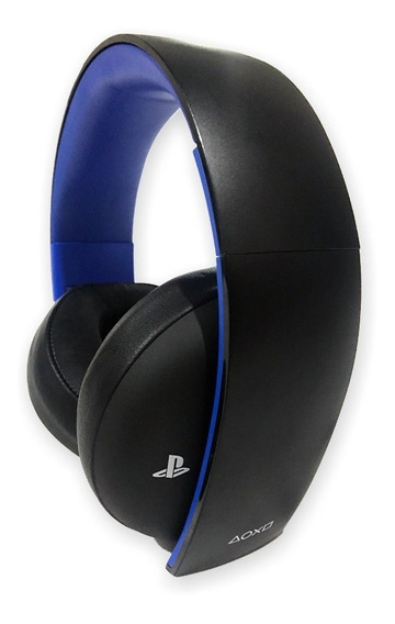 Fone De Ouvido Playstation Ps4 Sony Headset Gold 7.1 Pc Win7