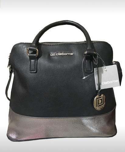 Imagen 1 de 1 de Bolsa Para Dama Marca Liz Claiborne Original Color Negro