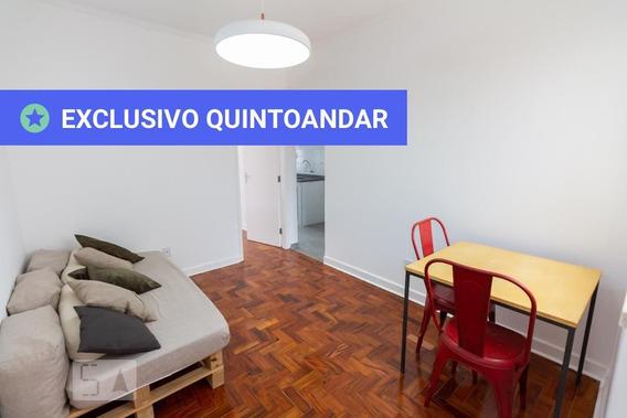 Apartamento No 6º Andar Com 1 Dormitório - Id: 892962412 - 262412