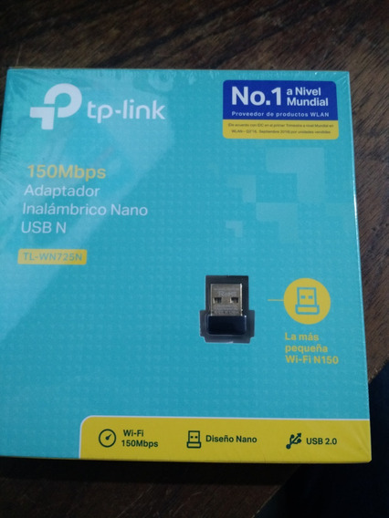 Wifi Usb Tp-link Tl-wn725n 150mbps Funcionando En Caja
