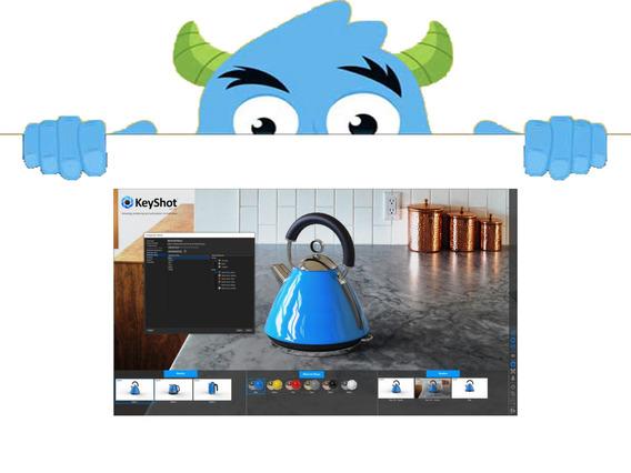 Keyshot Diseno Y Multimedia Edicion - Software en Mercado