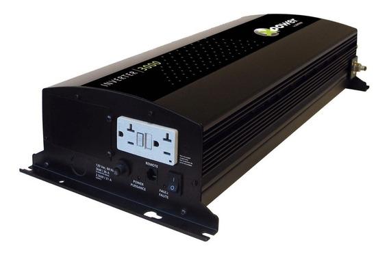 Inversor De Tensão Xantrex 3000w 12v Para 110v Conversor De Tensão Náutico E Veicular