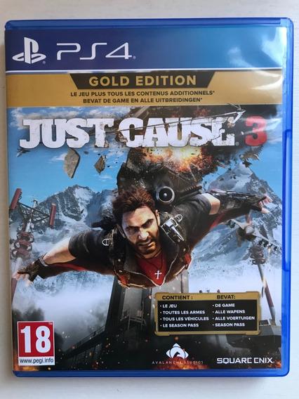 Just Cause 3 Gold Edition- Ps4 Seminovo Usado