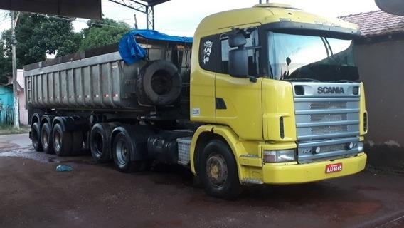 Scania 420 E Carreta Basculante R$180mil