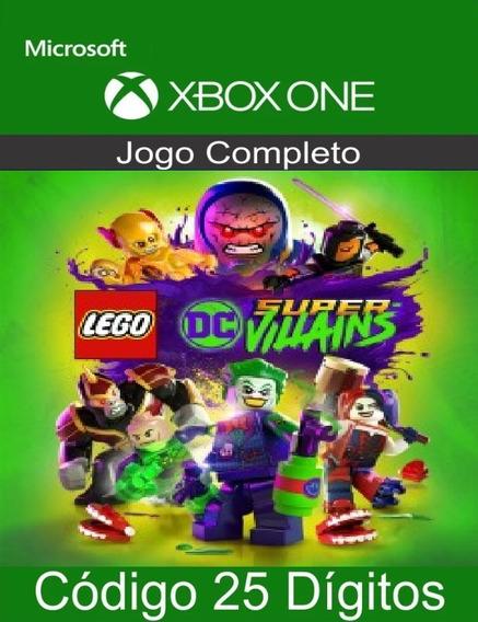 Lego Dc Super Vilões Xbox One 25 Dígitos