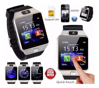 Relógio Bluetooth Smart Watch Android Ios Sony Samsung