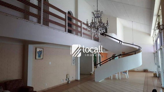 Casa Com 4 Dormitórios Para Alugar, 560 M² Por R$ 10.000/mês - Vila São José - São José Do Rio Preto/sp - Ca2146