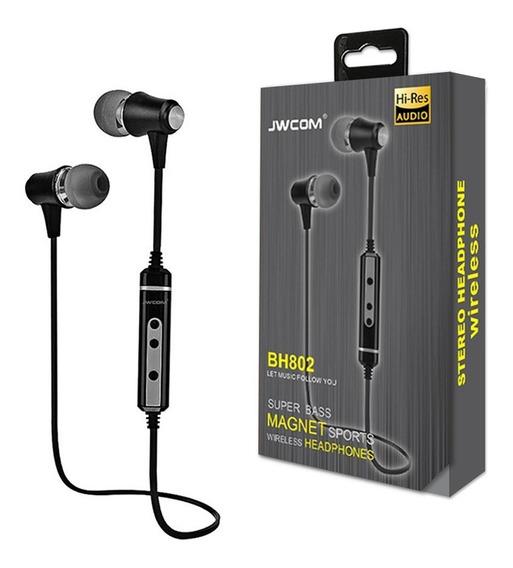Fone De Ouvido Sem Fio Bluetooth Wireless Esportivo Bh-802
