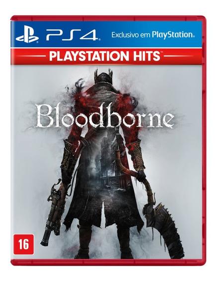 Jogo Bloodborne Playstation Hits Ps4 Mídia Física Lacrado