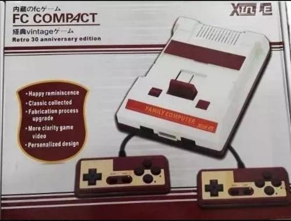 Fc Compact Vídeo Game Classic Edition Com 150 Jogos Original