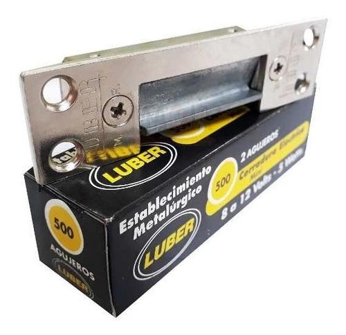 Cerradura Electrica Luber Mod 500 Mini Destrabapestillo