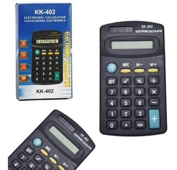 10x Calculadora Portátil De Bolso 8 Digitos Kk-402